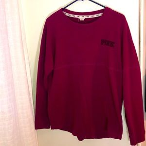 PINK Long Sleeve size L